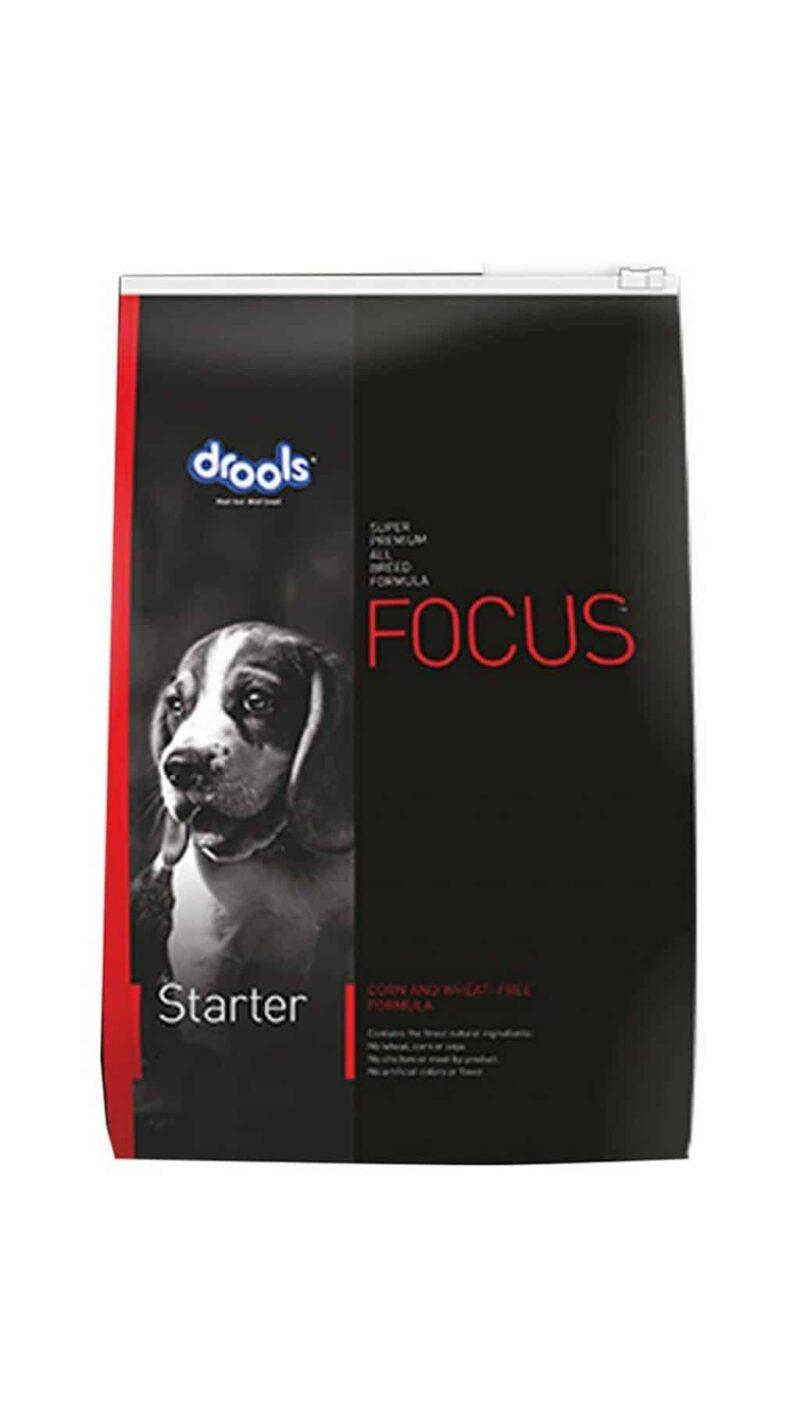 Drools Focus Starter 4Kg Super-premium All breed dog food