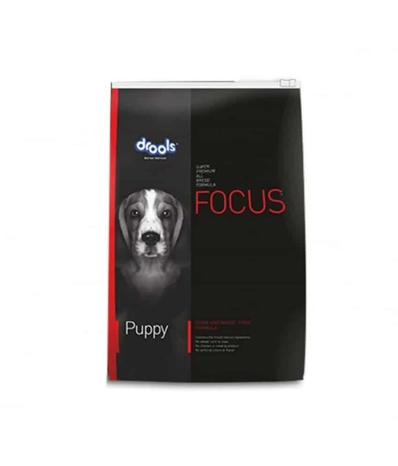 Drools Focus Puppy 4Kg Super-premium All breed dog food