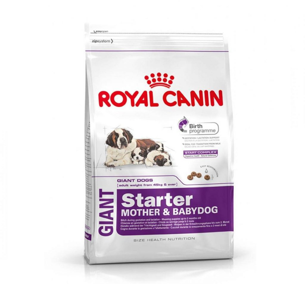 Royal Canin Giant Starter 4kg dog food
