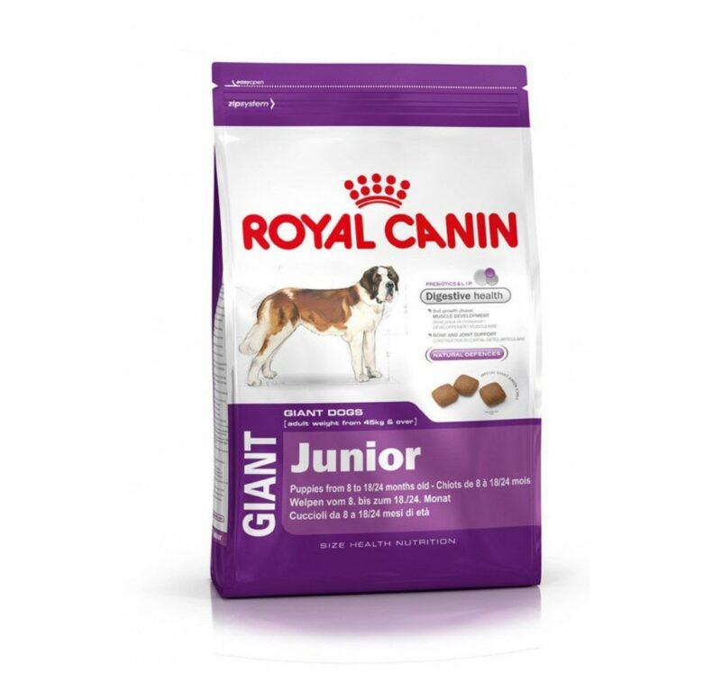 Royal Canin Giant Junior 4kg dog food