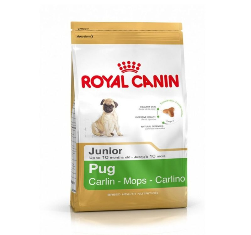 Royal Canin Pug Junior 1.5Kg Dog food