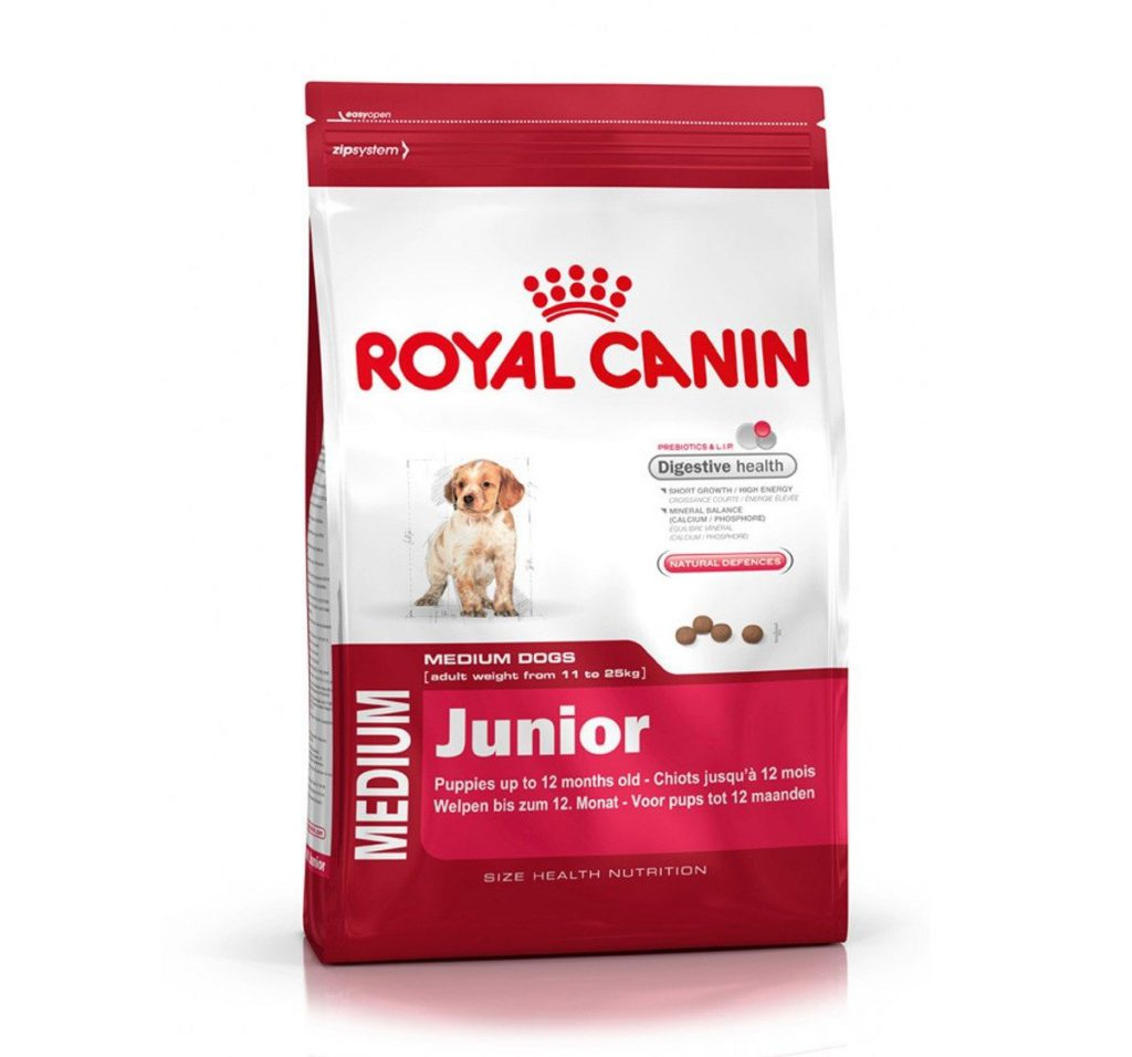 Royal Canin Medium Junior 4Kg dog food