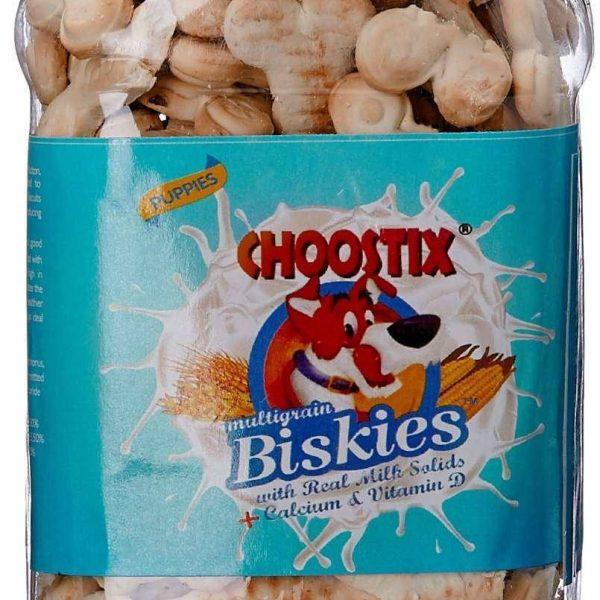 Choostix Real Milk Biskies 1Kg dog treat