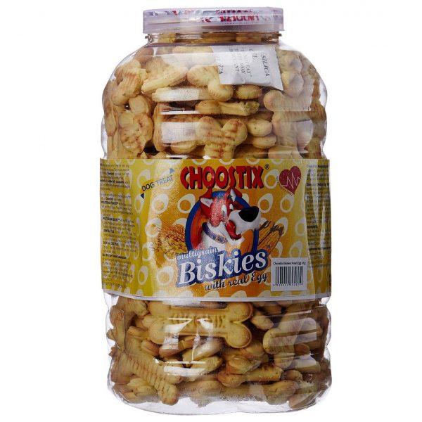 Choostix Real Egg Biskies 1Kg dog treat