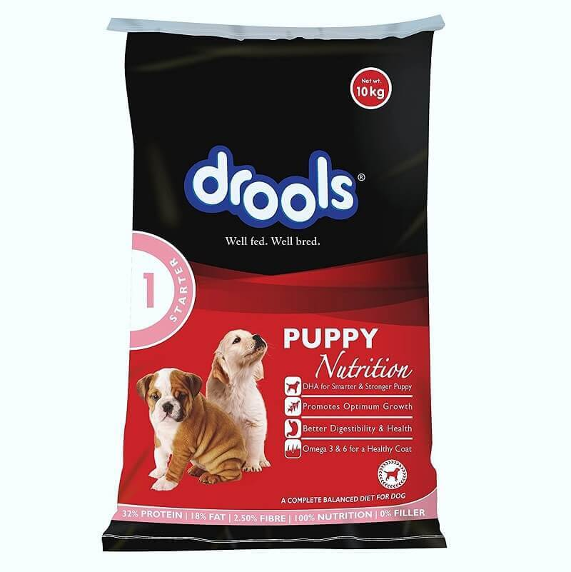Drools Puppy Starter 10Kg all breed dog food