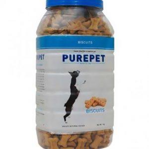 Drools Purepet 1Kg Real Chicken Premium dog biscuit