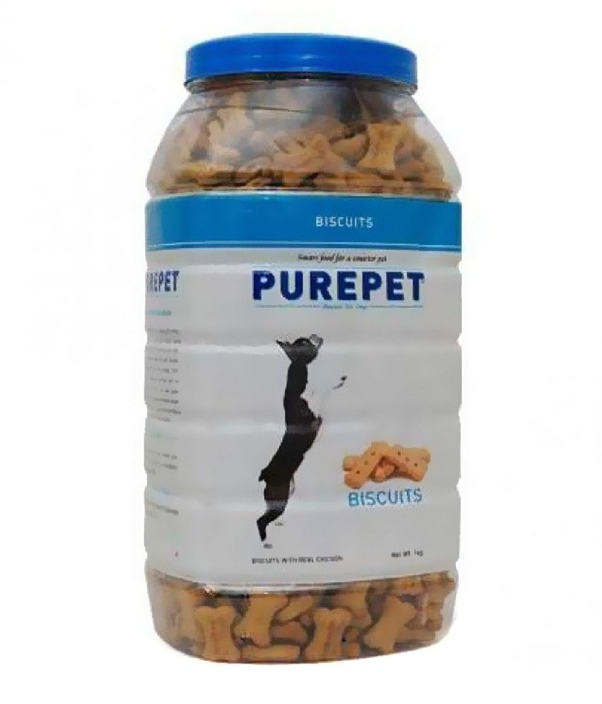 Drools Purepet 1Kg Real Chicken Premium dog biscuit