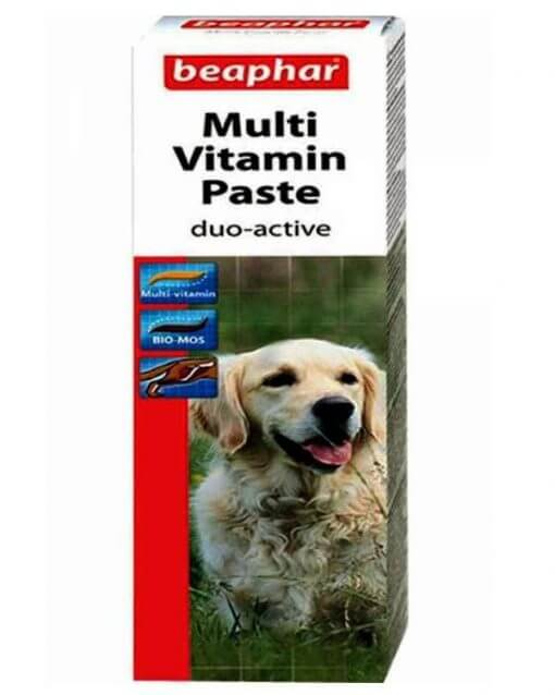 Beaphar Duo Active Multi-vitamin Paste Double action for dogs all breed