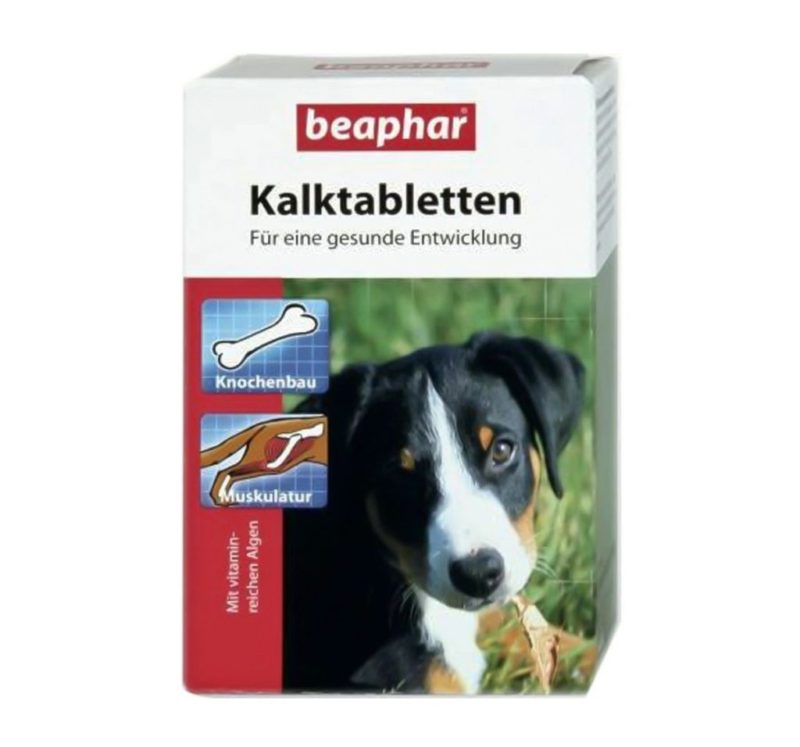 Beaphar Kalk(Calcium) Tablets for dogs all breed