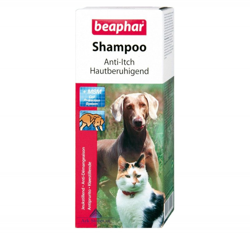 Beaphar Anti Itch Shampoo For Dogs And Cats All Breed