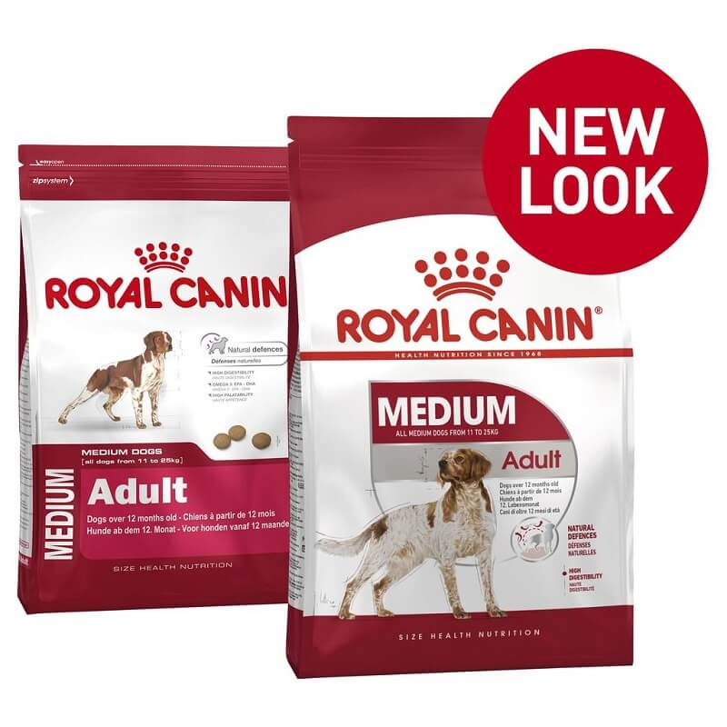 royal canin medium adult new