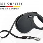 lexi retractable dog leash black