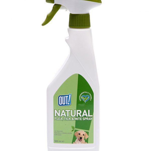out flea tick spray dogs