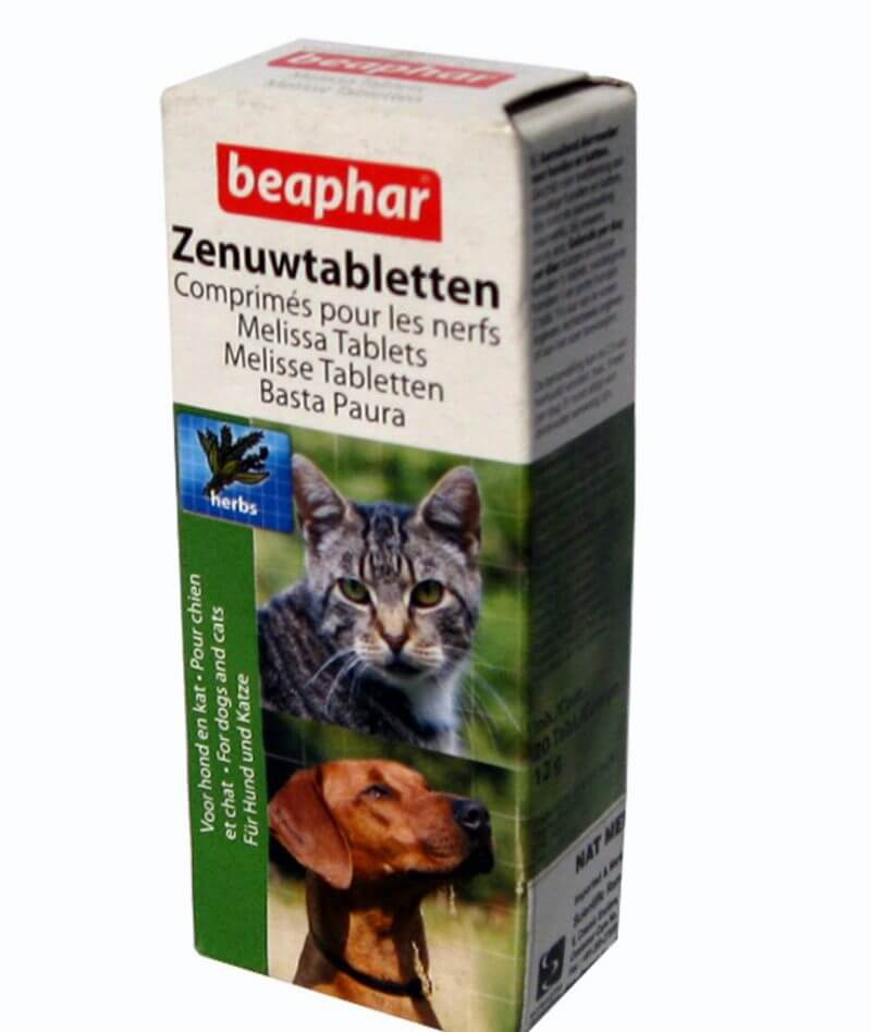 beaphar melissa calming tabs for pets