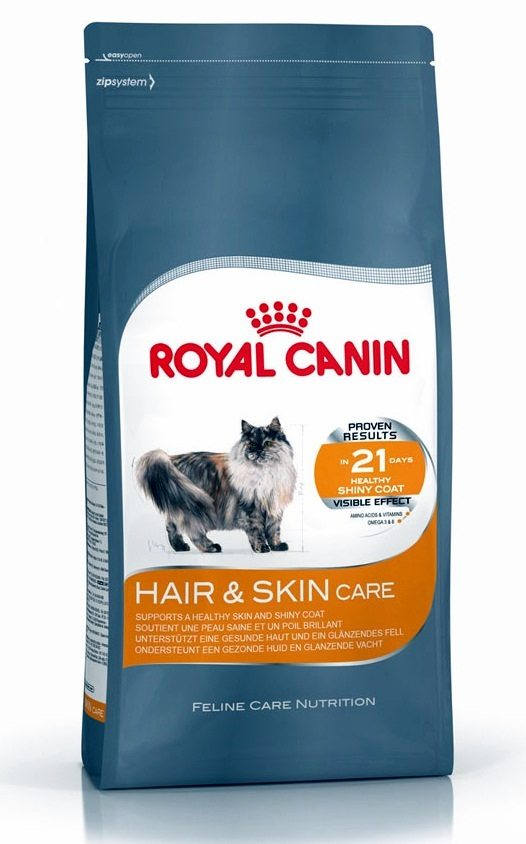 royal canin hair and skin care cat