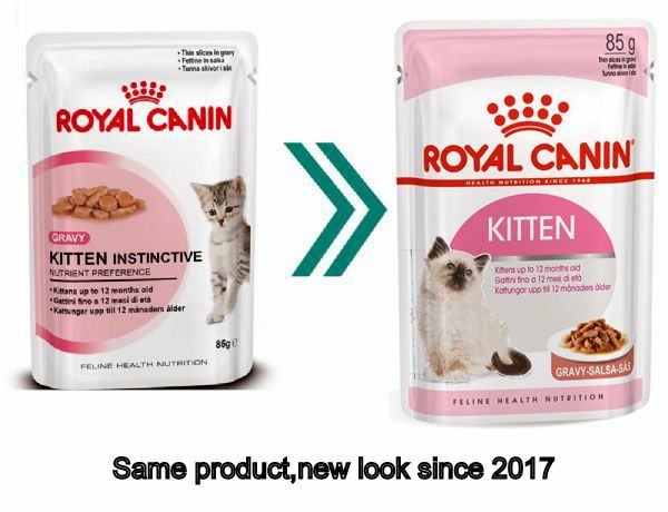 royal canin kitten instinctive wet cat food 12 85g pouch loyalpetzone. Black Bedroom Furniture Sets. Home Design Ideas