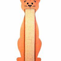 trixie cat scratching board cat shaped