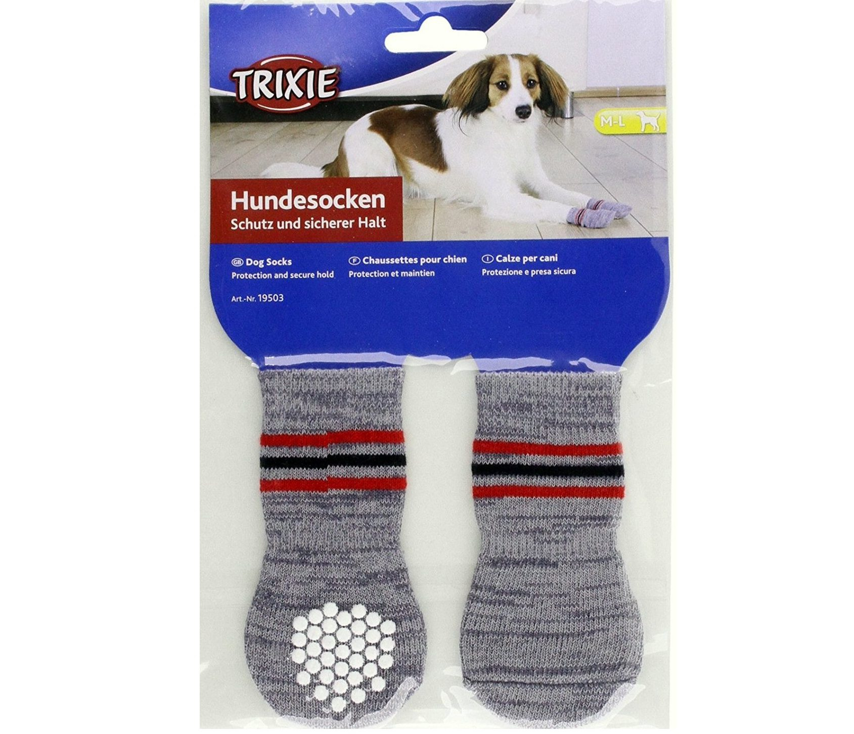 trixie dog socks