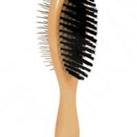 trixie grooming brush with pin and bristles