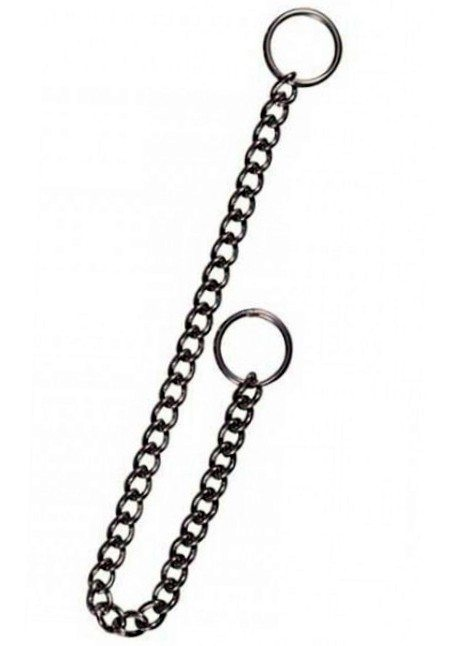trixie dog choke chain regular link