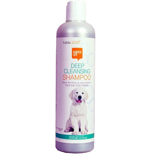 forbis deep cleansing dog shampoo