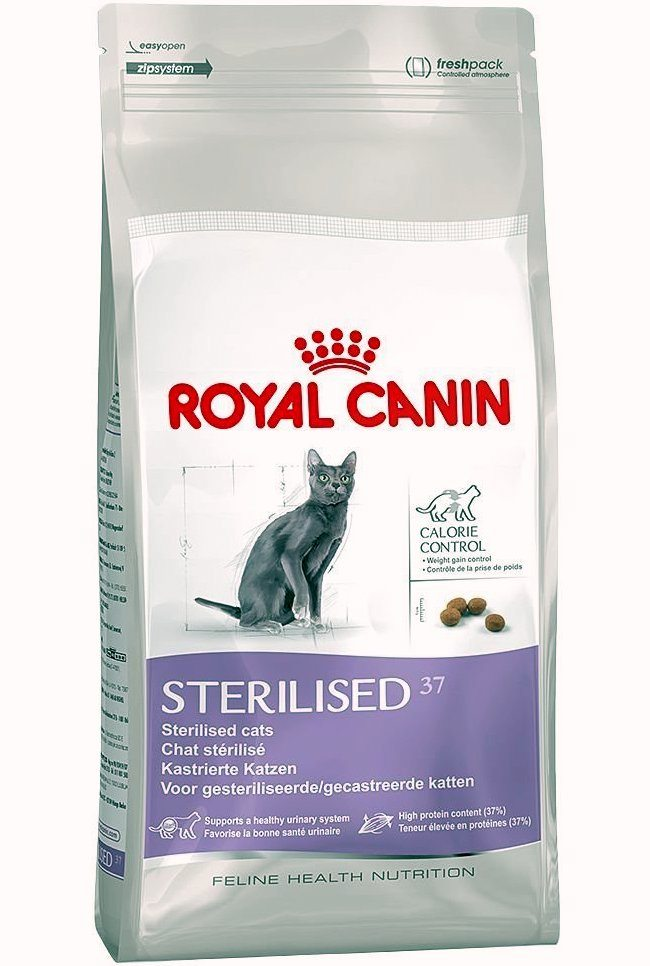 royal canin sterilised 37 2kg cat food loyalpetzone. Black Bedroom Furniture Sets. Home Design Ideas