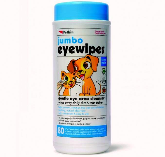 petkin jumbo eyewipe