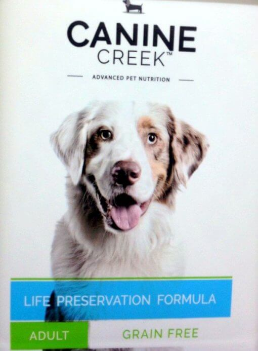 canine creek grain free adult
