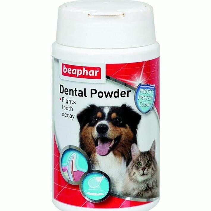 beaphar dental powder brown seaweed