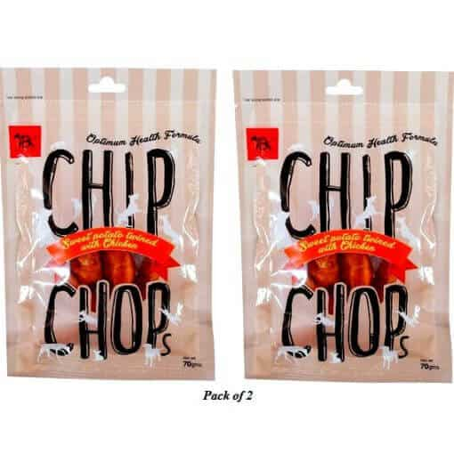 chipchops sweet potato twined with chicken