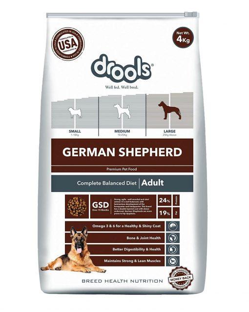 drools german shepherd adult