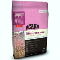acana grass fed lamb dog food