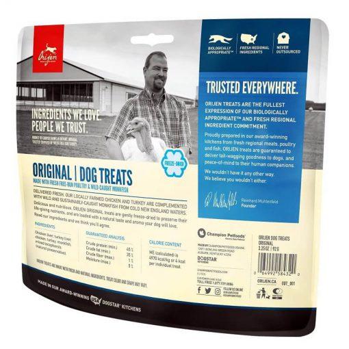 orijen original freeze dried treat back