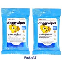 petkin instant bath dog wipe