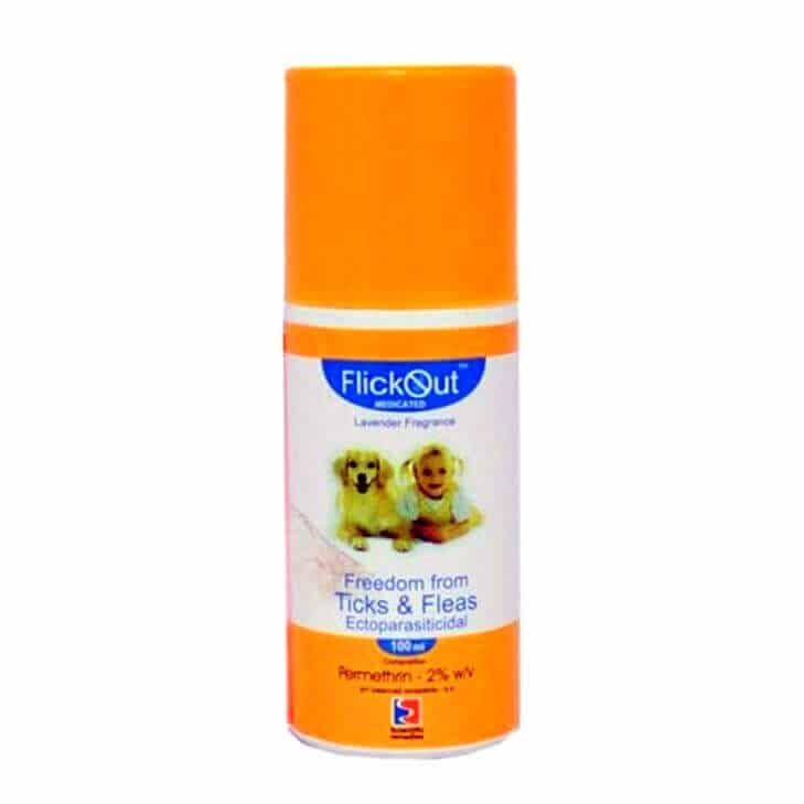 Scientific Remedies Flickout Medicated Flea And Tick Spray