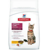 hills science plan optimal care feline