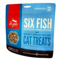 orijen six fish cat kitten treats