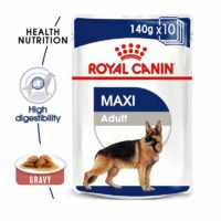 royal canin maxi adult wet gravy