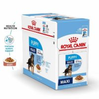royal canin maxi puppy wet gravy food