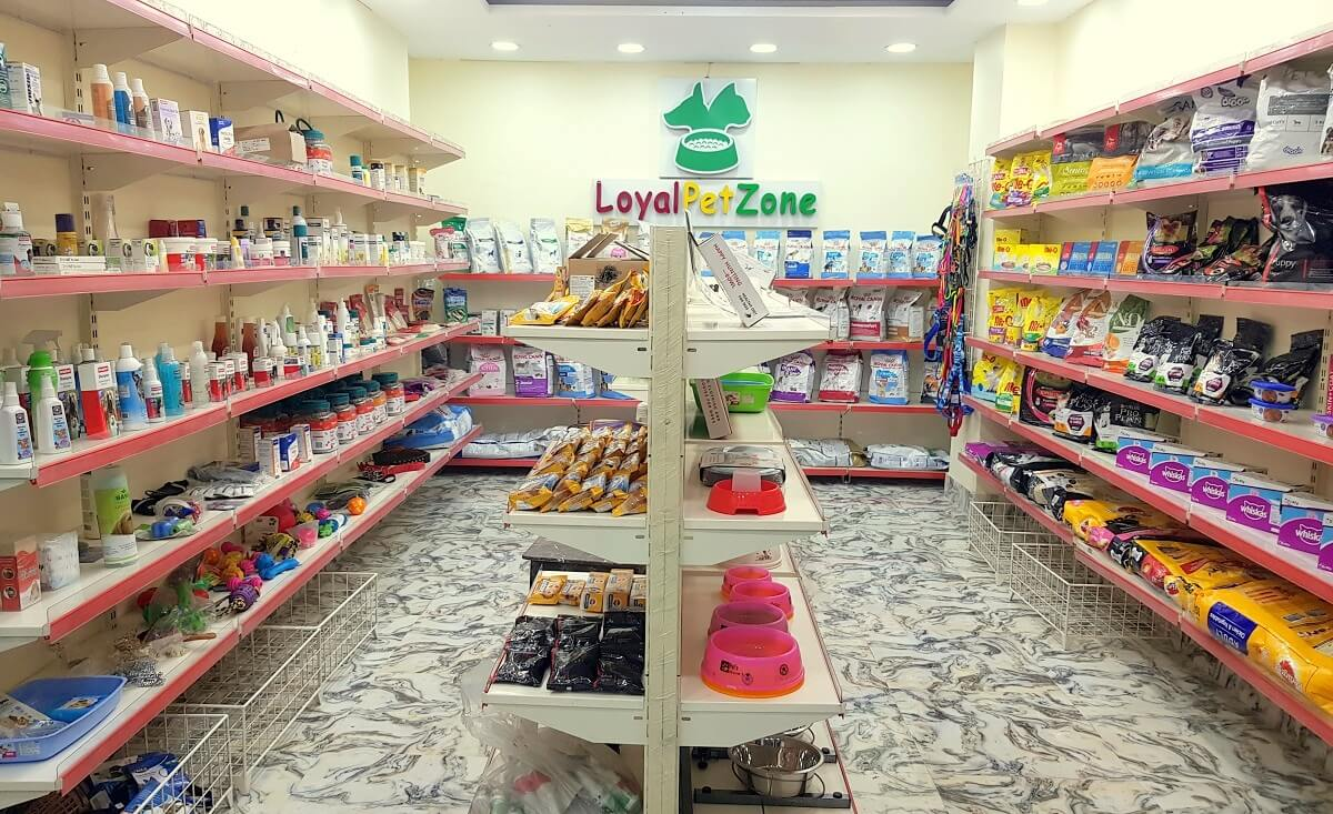 Loyal Pet Zone Pet Supply Store Inside
