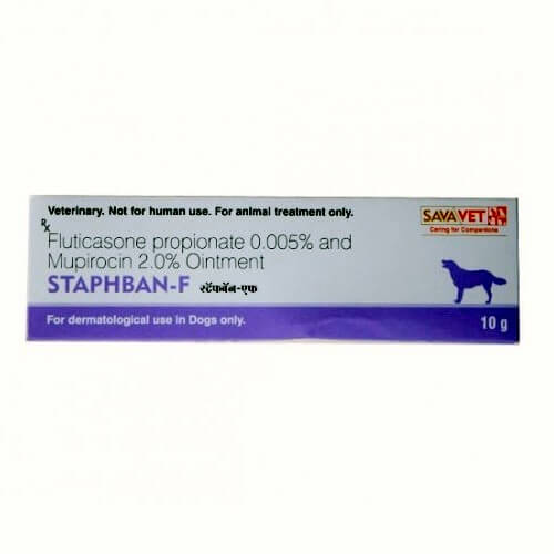 Staphban F for dogs