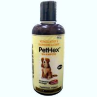 pet care pet hex dog shampoo