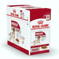 royal canin medium adult gravy pouches