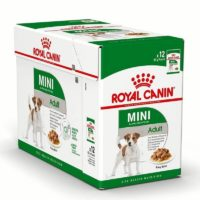 royal canin mini adult gravy pouch