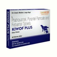 kiwof plus dog dewormer