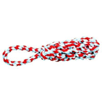 Dog rope toy with hand loop