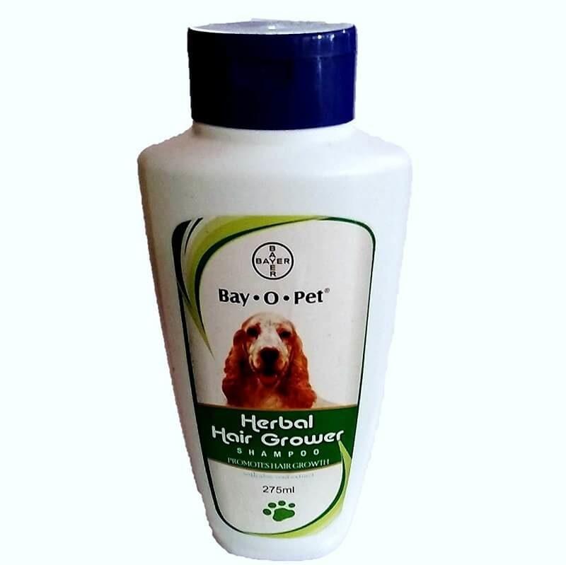 Bayer herbal hair grower dog shampoo