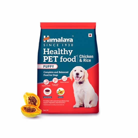 himalaya healthy puppy food