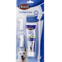 dog toothpaste brush set